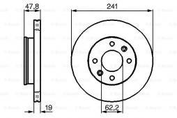 Sonda lambda BOSCH (0 258 005 322), BMW, 5er, 5er Touring, 8er