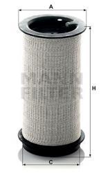 Filter, Kurbelgehäuseentlüftung MANN-FILTER (C 716 x)