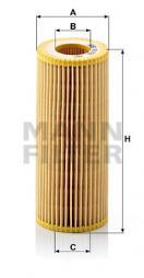 Hydraulikfilter, Automatikgetriebe MANN-FILTER (HU 721 y)