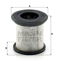 Filter, Kurbelgehäuseentlüftung MANN-FILTER (LC 10 001 x)