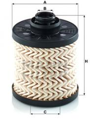 Filtro carburante MANN-FILTER (PU 7010 z), CITROEN, PEUGEOT, DS, TOYOTA, OPEL, FORD, DS5, DS3, 308 SW II, 308 II, 508 I, 508 SW I, 208, DS3 Cabriolet, 3008 Großraumlimousine, C4 Cactus, 5008, C4 Picasso II, C4 Grand Picasso II, DS4, 2008, C4 II, Partner