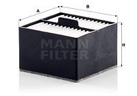 Filtro carburante MANN-FILTER (PU 911)