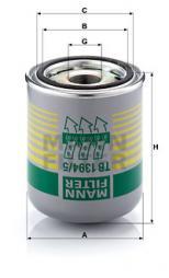 Cartuccia essiccatore aria, Imp. aria compressa MANN-FILTER (TB 1394/5 x)