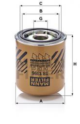 Cartuccia essiccatore aria, Imp. aria compressa MANN-FILTER (TB 1396 x)