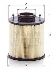 Harnstofffilter MANN-FILTER (U 620/4 y KIT)