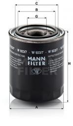 Filter, Arbeitshydraulik MANN-FILTER (W 923/7)