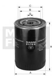 Kühlmittelfilter MANN-FILTER (WA 9110)