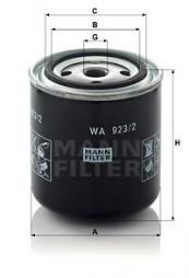 Kühlmittelfilter MANN-FILTER (WA 923/2)
