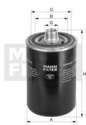 Filter, Arbeitshydraulik MANN-FILTER (WD 940/4)