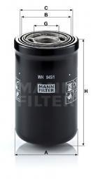 Hydraulikfilter, Automatikgetriebe MANN-FILTER (WH 945/1)