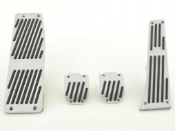 FK Alupedale Pedale Set 4-teilig BMW 5er Pedalcover Autopedale Streifen-Design