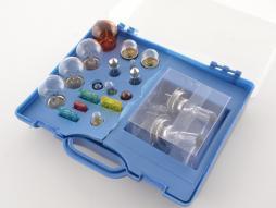 Autolampen Set Halogen Birnen H7 Sicherungen Set 19-teilig