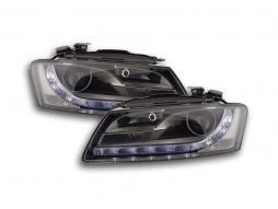 Scheinwerfer Daylight gebraucht mit Tagfahrlicht Audi A5 (8T) Bj. 07-08 chrom