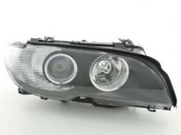 Verschleißteile Xenon Scheinwerfer gebraucht rechts BMW 3er E46 Coupe Bj. 03-06, schwarz