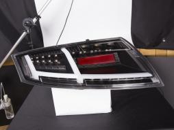 LED feux arrières Lightbar Audi TT 8J année 06-14 noir