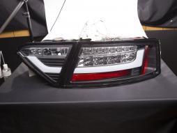 LED Rückleuchten Lightbar Audi A5 8T Coupe/Sportback Bj. 07-11 schwarz
