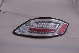 LED Rückleuchten Lightbar Porsche Boxster Typ 987 Bj. 04-09 chrom