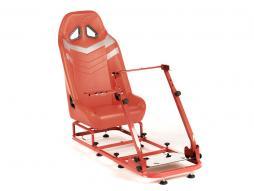 Palette 3x FK Gamesitz Spielsitz Rennsimulator eGaming Seats Monza rot/grau