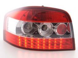 LED Rückleuchten Set Audi A3 Typ 8P Bj. 03-05 klar/rot