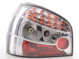 Led Taillights Audi A3 type 8L Yr. 96-02 chrome