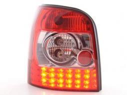 Led Rückleuchten Audi A4 Avant Typ B5 Bj. 95-00 klar/rot