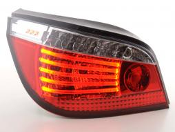 Led rear lights BMW serie 5 saloon type E60 Yr. 03- clear/red