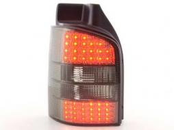 Led Taillights VW Bus T5 type 7J/7H Yr. 03-09 black
