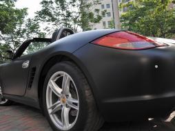 Auto Folie matt schwarz selbstklebend 1 Rolle = 1,52m x 15m