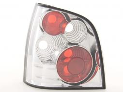 Taillights VW Polo type 9N Yr. 01- chrome