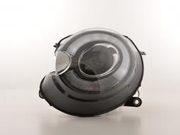Scheinwerfer Set Daylight LED TFL-Optik Mini One / Cooper Bj. 06-10 schwarz