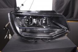 headlights Daylight LED daytime running light  VW Bus T6 year from 2015 black
