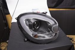 headlights Xenon Daylight LED DRL look  Mini Countryman R60 year 10-17 black