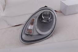 phares Xenon Daylight LED look DRL  Porsche Boxster type 987 année 04-09 argent