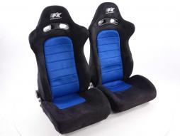 Pallet 3x Sportseat Set Chicago fabric blue/black