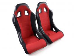 Pallet 3x Sportseat Set Edition 4 fabric red /