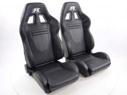 FK sport seats half bucket seats Set Racecar with heating