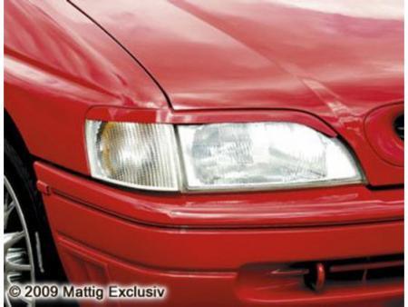 MATTIG Scheinwerferblenden für Ford Escort GAL, Bj. 1990-1995