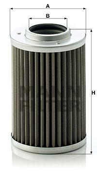 Hydraulikfilter, Automatikgetriebe MANN-FILTER (H 710/1 n)