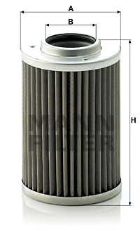 Hydraulikfilter, Automatikgetriebe MANN-FILTER (H 710/1 z)