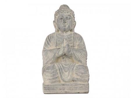 sitzender Buddha Abmessung ca. 26x22x49 cm