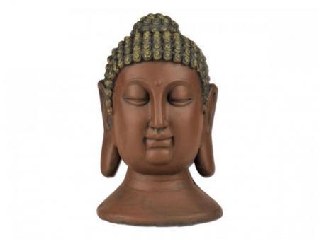 Buddhakopf Abmessung ca. 24x24x40 cm