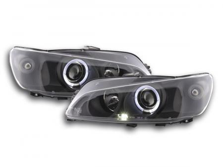 Scheinwerfer Set Peugeot 306 Bj. 97-00 schwarz