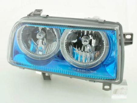 Scheinwerfer Angel Eyes VW Vento Typ 1HXO,1H Bj. 92-98 blauchrom