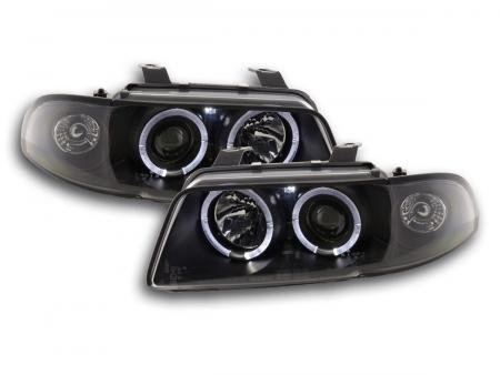 Scheinwerfer Set Audi A4 Typ B5 Bj. 95-99 schwarz