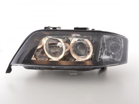 Scheinwerfer Angel Eyes Audi A6 Typ 4B Bj. 99-00 schwarz