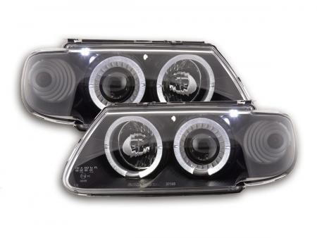 Scheinwerfer Set Citroen Saxo Bj. 96-99 schwarz