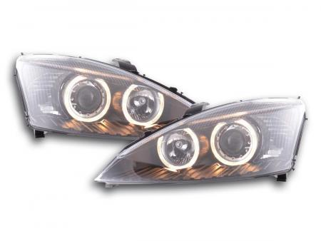 Scheinwerfer Angel Eyes Ford Focus Bj. 01-02 schwarz