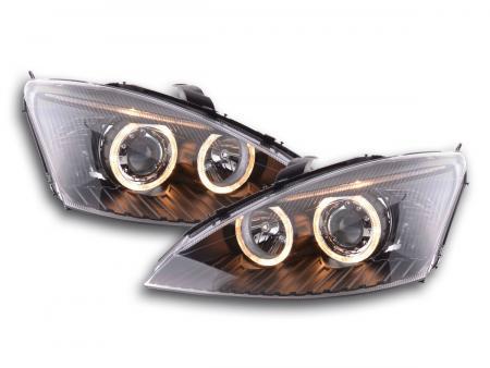 Scheinwerfer Angel Eyes Ford Focus Bj. 98-01 schwarz