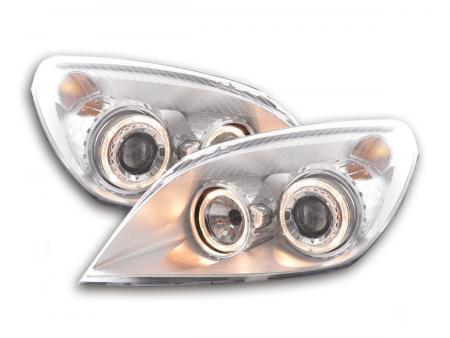 Scheinwerfer Set Angel Eyes Opel Astra H Bj. 04-10 chrom