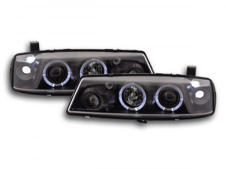 Scheinwerfer Set Opel Calibra Bj. 90-98 schwarz
